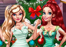 Princesses Christmas Preparations