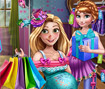 Pregnant Princess Shopping