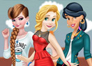 Princesses Modern College Fashion