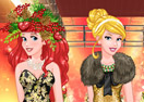 Princess Christmas Fashion Show
