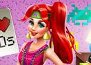 Mermaid Princess 80s Diva