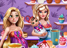 Jogo Princesses Tea Afternoon Online Gratis