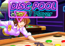 Jogo Disc Pool 1 Player Online Gratis