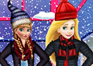 Princesses Winter Shopping