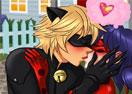 Miraculous Ladybug Kissing