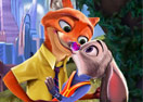 Judy And Nick Kissing