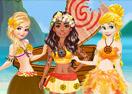 Princesses Island Survive