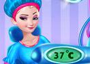 Frozen sisters Pregnancy checkup