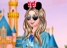 At Disneyland With Barbie