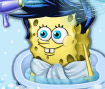 Spongebob Baby Bathing