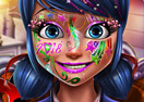 Dotted Girl New Year Makeup