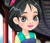 Princess Mulan Shoe Design