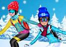 Princesses Go Skiing