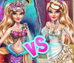 Ellie Mermaid Vs Princess